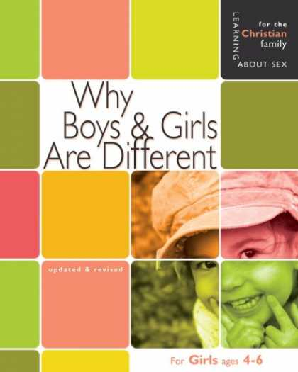 Books on Learning and Intelligence - Why Boys & Girls Are Different: For Girls Ages 4-6 and Parents (Learning About S