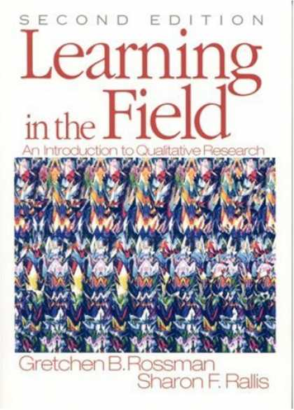 Books on Learning and Intelligence - Learning in the Field: An Introduction to Qualitative Research