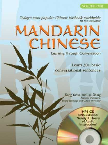 Books on Learning and Intelligence - Mandarin Chinese Learning Through Conversation: Volume 1: with Audio MP3