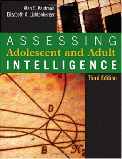Books on Learning and Intelligence - Assessing Adolescent and Adult Intelligence, Third Edition