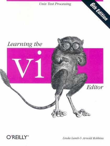 Books on Learning and Intelligence - Learning the vi Editor (6th Edition)