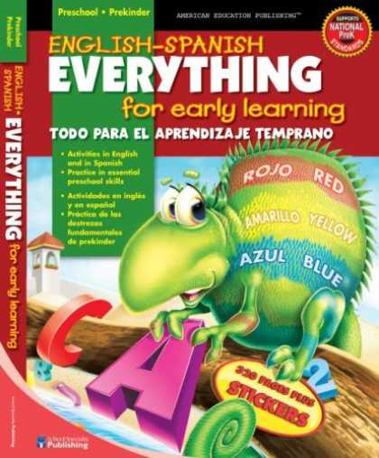 Books on Learning and Intelligence - English-Spanish Everything for Early Learning, Preschool (Spanish Edition)