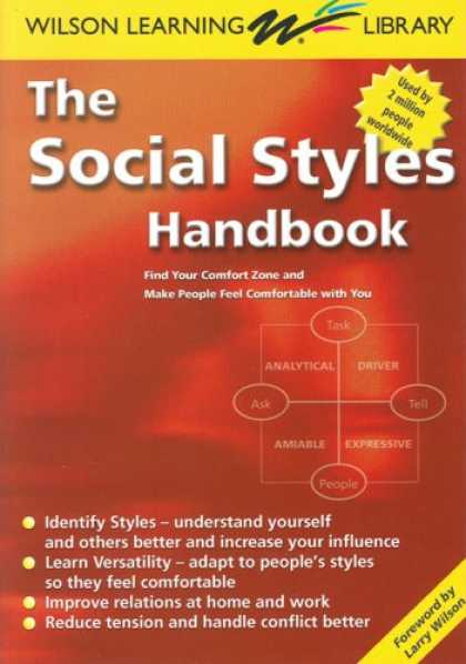 Books on Learning and Intelligence - The Social Styles Handbook: Find Your Comfort Zone and Make People Feel Comforta