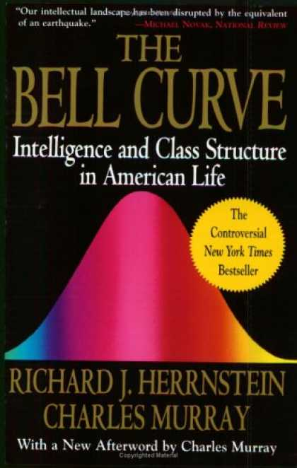 Books on Learning and Intelligence - Bell Curve: Intelligence and Class Structure in American Life (A Free Press Pape