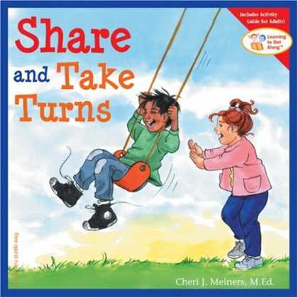 Books on Learning and Intelligence - Share and Take Turns (Learning to Get Along, Book 1)