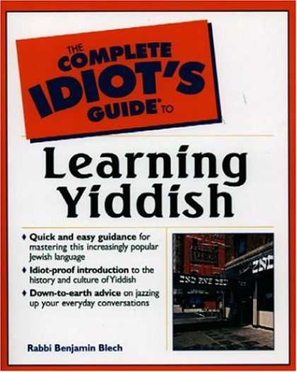 Books on Learning and Intelligence - Complete Idiot's Guide to Learning Yiddish