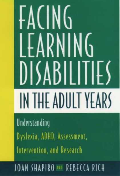 Books on Learning and Intelligence - Facing Learning Disabilities in the Adult Years