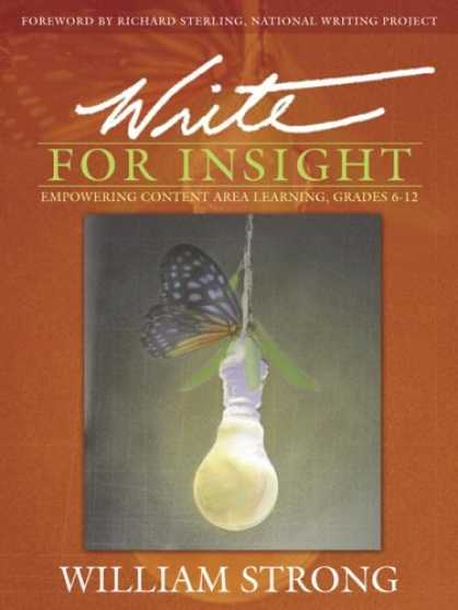 Books on Learning and Intelligence - Write For Insight: Empowering Content Area Learning, Grades 6-12