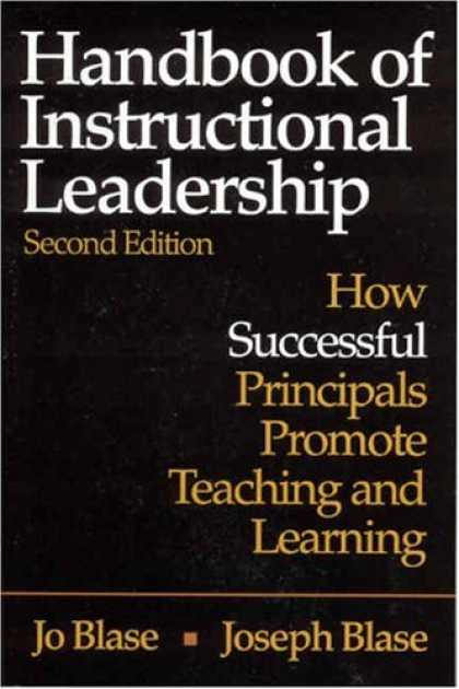 Books on Learning and Intelligence - Handbook of Instructional Leadership: How Successful Principals Promote Teaching