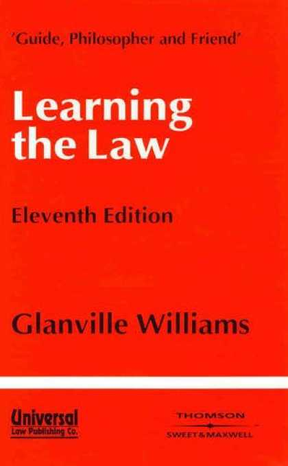 Books on Learning and Intelligence - Learning the Law