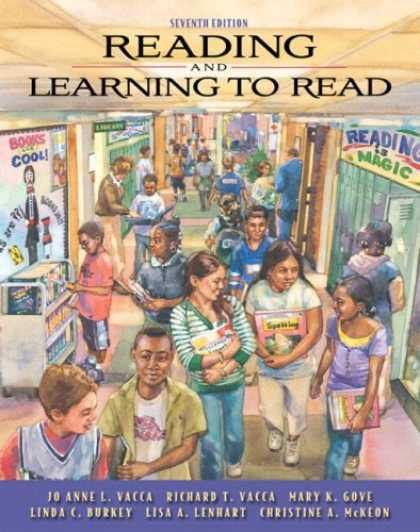 Books on Learning and Intelligence - Reading and Learning to Read (with MyEducationLab) (7th Edition) (MyEducationLab