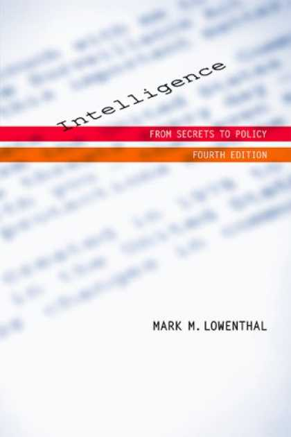 Books on Learning and Intelligence - Intelligence: From Secrets to Policy