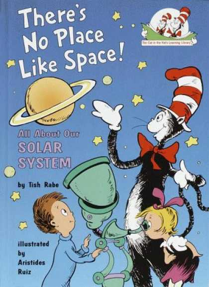 Books on Learning and Intelligence - There's No Place Like Space: All About Our Solar System (Cat in the Hat's Learni