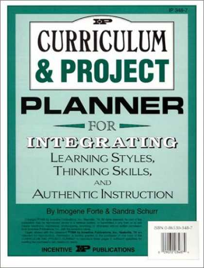 Books on Learning and Intelligence - Curriculum & Project Planner: For Integrating Learning Styles, Thinking Skills &