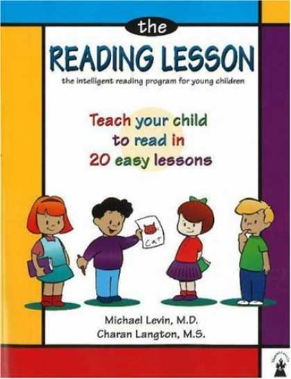 Books on Learning and Intelligence - The Reading Lesson: Teach Your Child to Read in 20 Easy Lessons