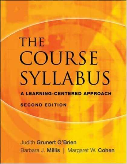 Books on Learning and Intelligence - The Course Syllabus: A Learning-Centered Approach (JB - Anker)