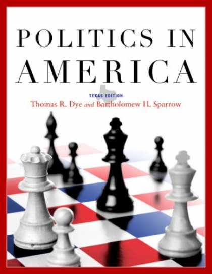 Books on Politics - Politics in America, Texas Edition (8th Edition) (MyPoliSciLab Series)