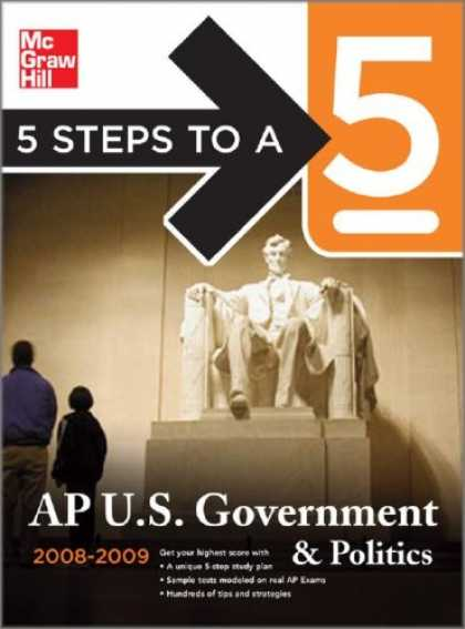 Books on Politics - 5 Steps to a 5: AP U.S. Government and Politics
