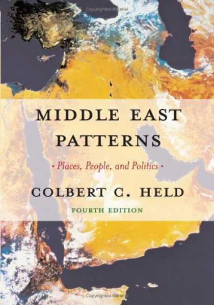 Books on Politics - Middle East Patterns: Places, Peoples, and Politics