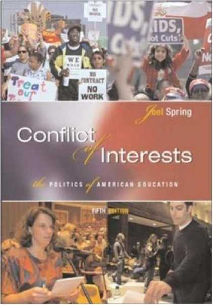 Books on Politics - Conflict of Interests: The Politics of American Education