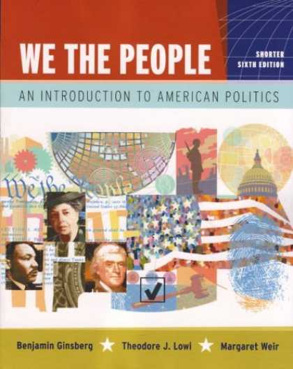Books on Politics - We the People: An Introduction to American Politics (Shorter Sixth Edition (with
