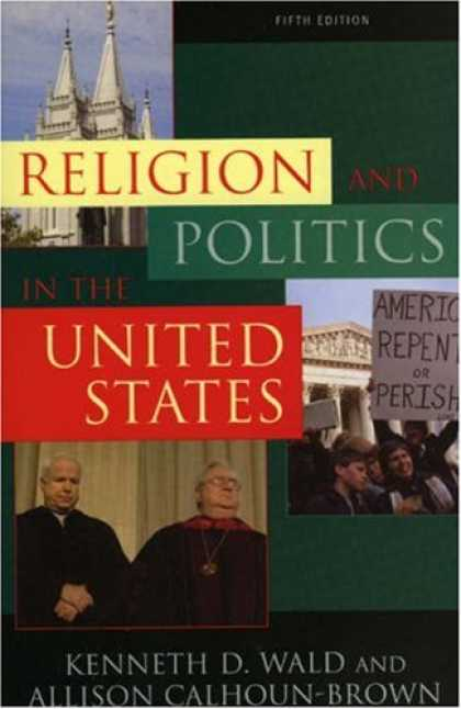 Books on Politics - Religion and Politics in the United States