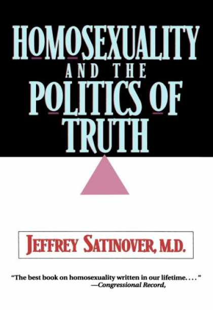 Books on Politics - Homosexuality and the Politics of Truth