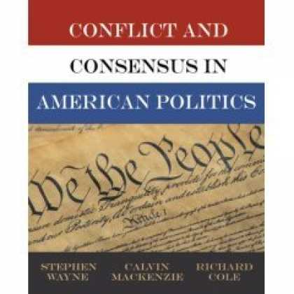 Books on Politics - Conflict and Consensus in American Politics (Instructor's Edition)