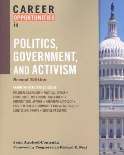 Books on Politics - Career Opportunities in Politics, Government and Activism