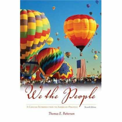 Books on Politics - We the People: A Concise Introduction to American Politics