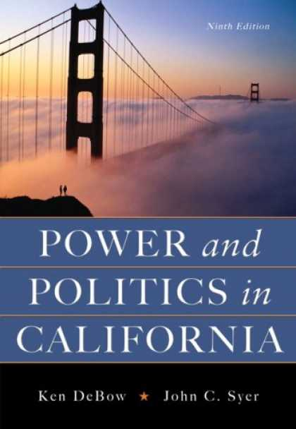 Books on Politics - Power And Politics In California- (Value Pack w/MySearchLab)