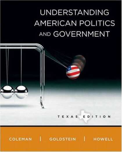 Books on Politics - Understanding American Politics and Government, Texas Edition (MyPoliSciLab Seri