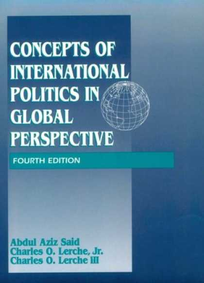 Books on Politics - Concepts of International Politics in Global Perspective