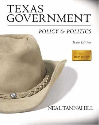 Books on Politics - Texas Government: Policy and Politics (Longman Study Edition) (10th Edition) (My