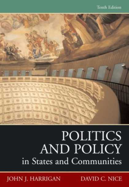 Books on Politics - Politics And Policy In States And Communities- (Value Pack w/MySearchLab)