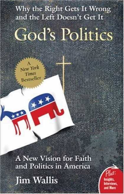 Books on Politics - God's Politics: Why the Right Gets It Wrong and the Left Doesn't Get It