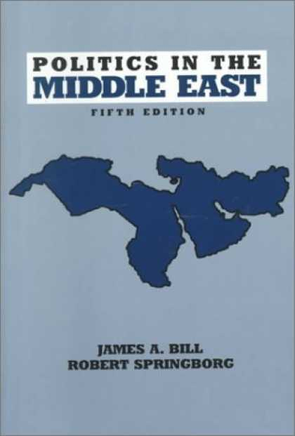Books on Politics - Politics in the Middle East (5th Edition) (Longman Series in Comparative Politic