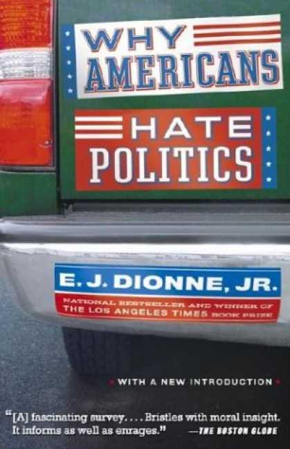 Books on Politics - Why Americans Hate Politics