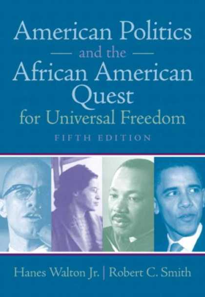 Books on Politics - American Politics and the African American Quest for Universal Freedom (5th Edit