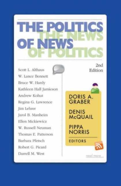 Books on Politics - The Politics of News: The News of Politics