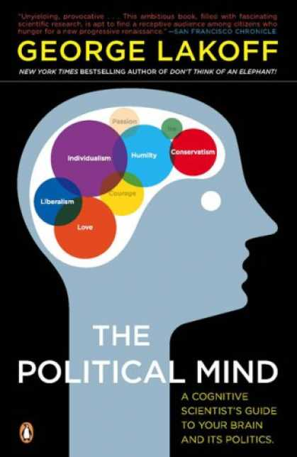 Books on Politics - The Political Mind: A Cognitive Scientist's Guide to Your Brain and Its Politics
