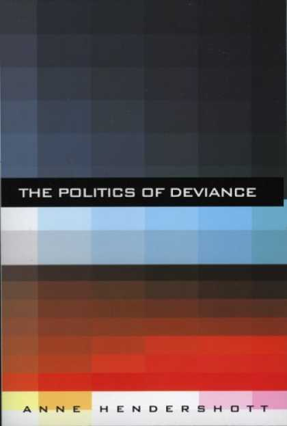 Books on Politics - The Politics of Deviance