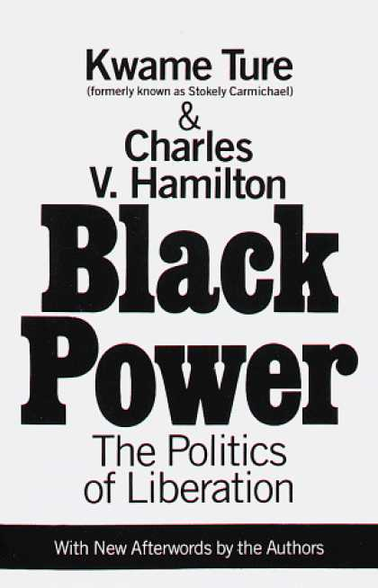 Books on Politics - Black Power : The Politics of Liberation