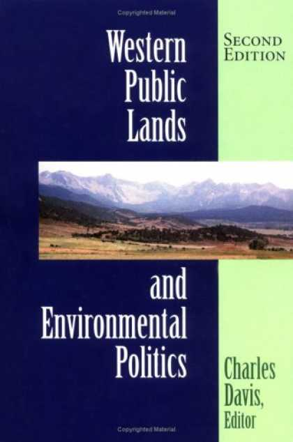 Books on Politics - Western Public Lands and Environmental Politics