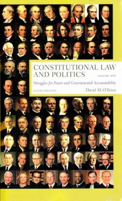 Books on Politics - Constitutional Law and Politics, Sixth Edition, Volume 1