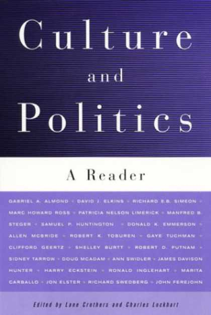 Books on Politics - Culture and Politics: A Reader