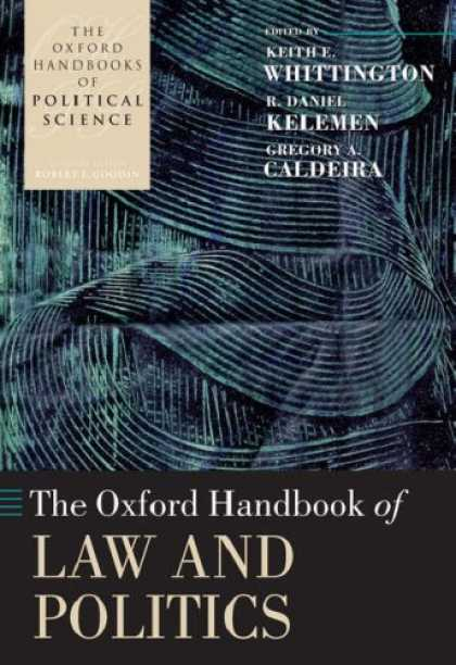 Books on Politics - The Oxford Handbook of Law and Politics (Oxford Handbooks of Political Science)