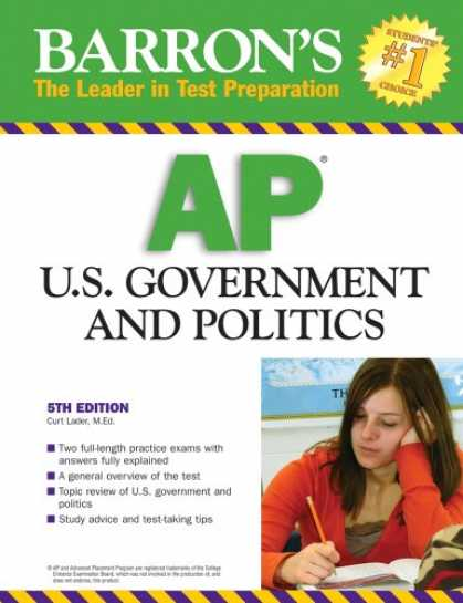 Books on Politics - Barron's AP U.S. Government and Politics