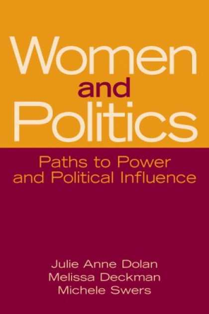 Books on Politics - Women and Politics: Paths to Power and Political Influence