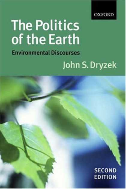 Books on Politics - The Politics of the Earth: Environmental Discourses